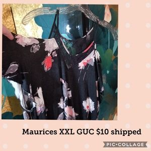 Maurices cold shoulder top